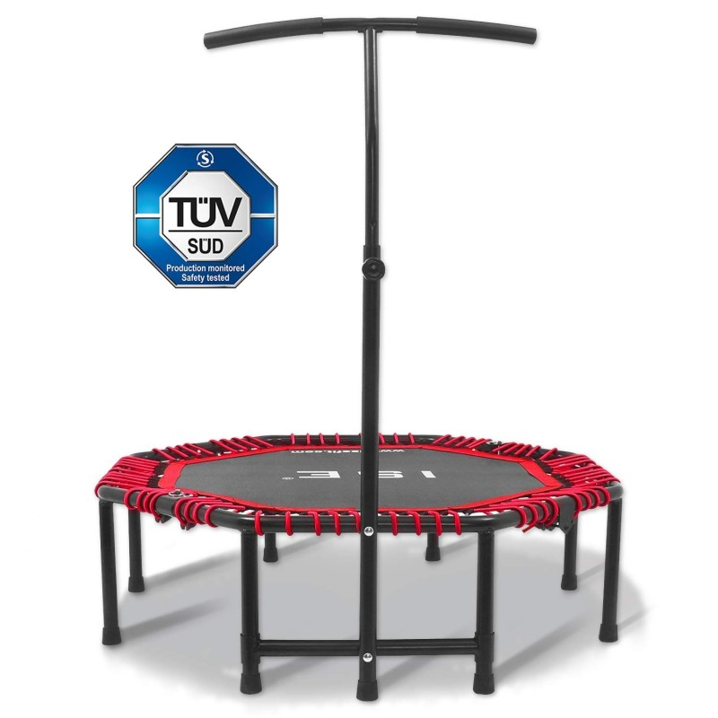 ISE Fitness Trampolin mit...