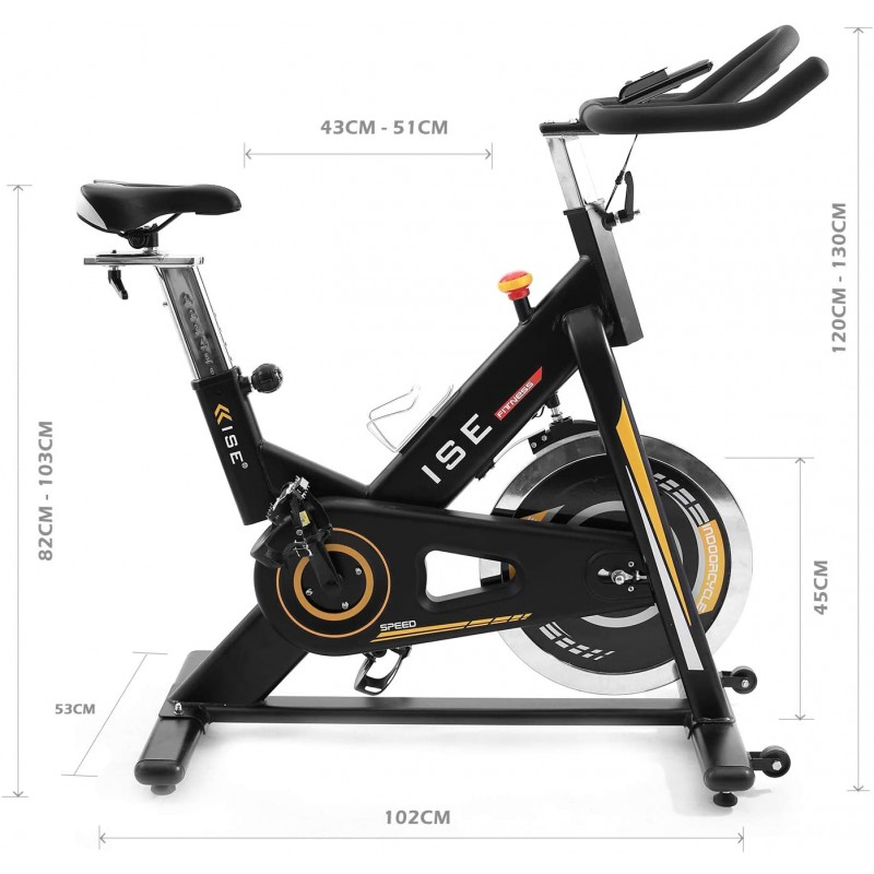 ISE Profi Indoor Cycle Ergometer...